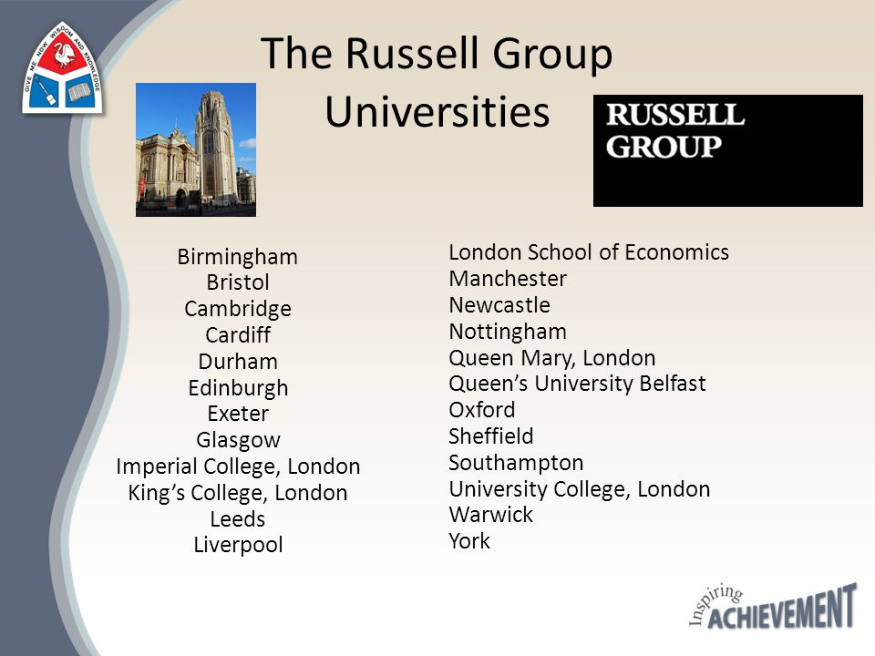 What do the Russell Group Say about A level Subject Choice
