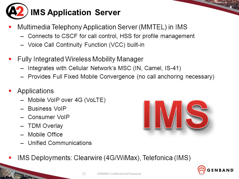 IMS Application Server