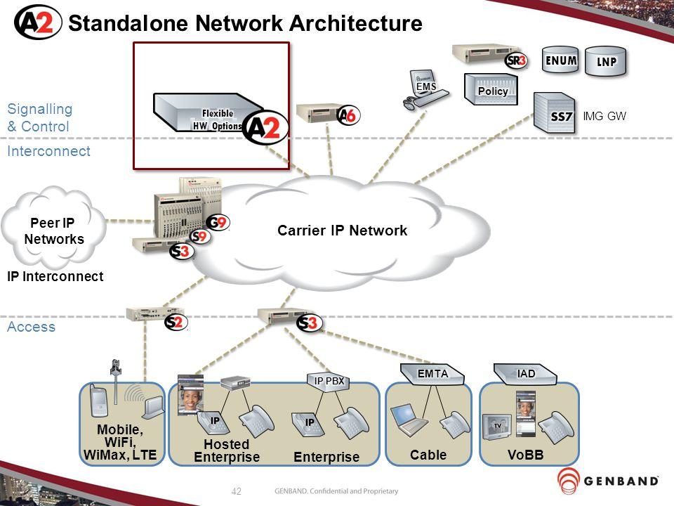 Standalone Network Architecture
