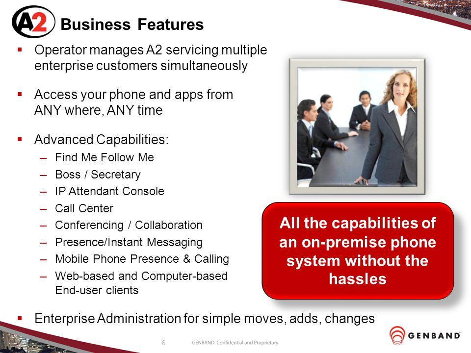 All the capabilities of an on-premise phone system without the hassles