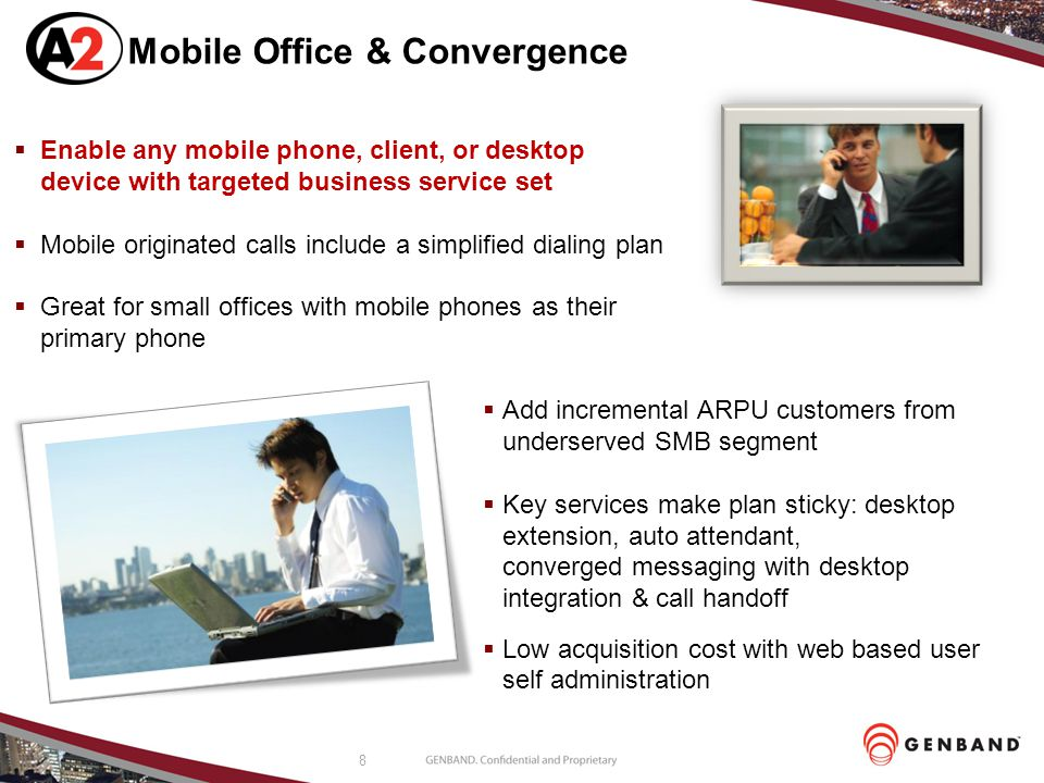 Mobile Office & Convergence