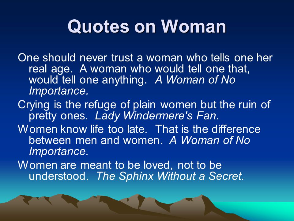Quotes on Woman