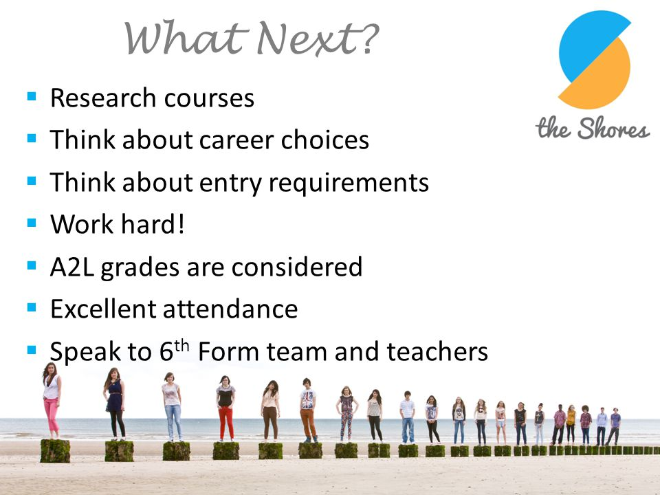 What Next Research courses Think about career choices