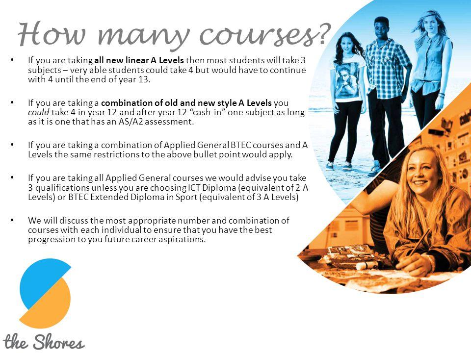 How many courses