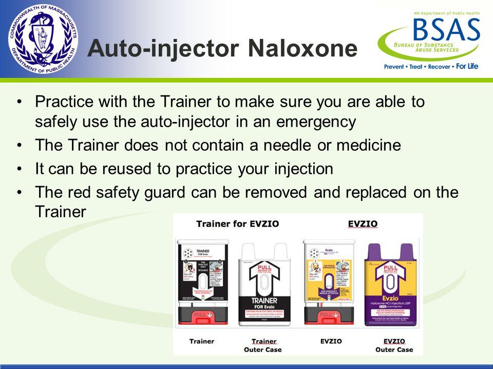 Auto-injector Naloxone