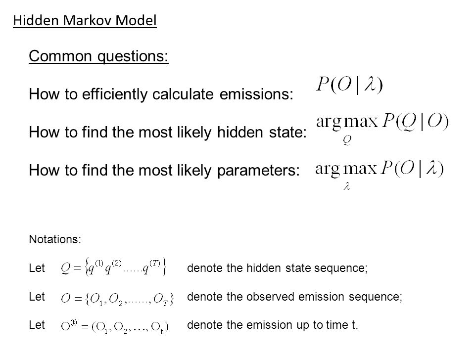 How to efficiently calculate emissions:
