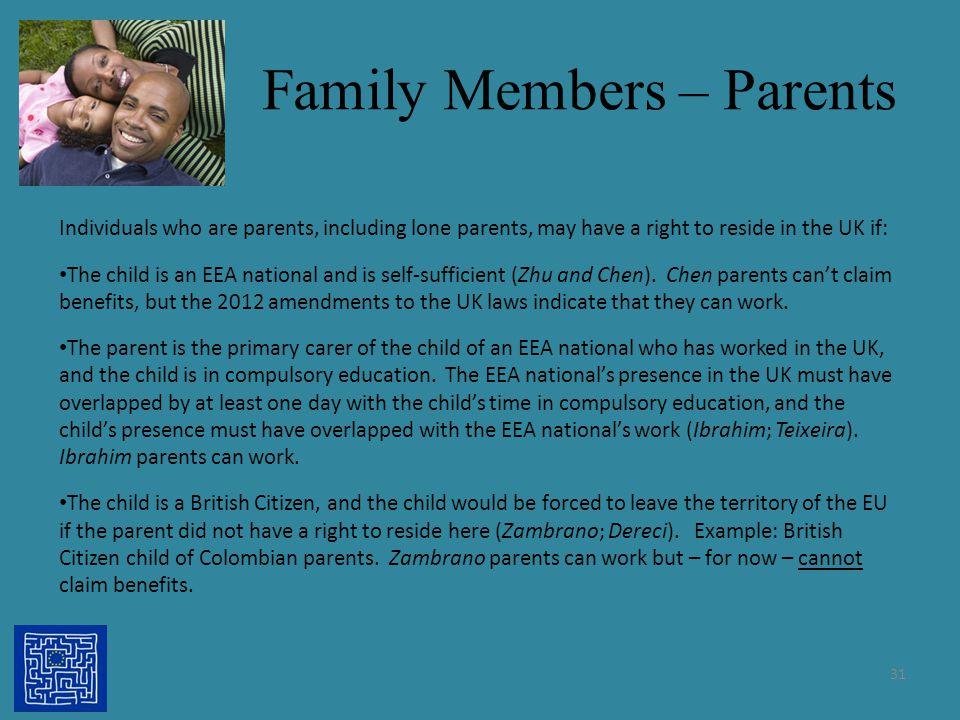 Family Members – Parents