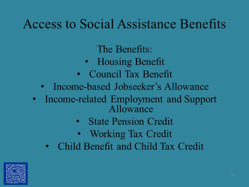 Access to Social Assistance Benefits