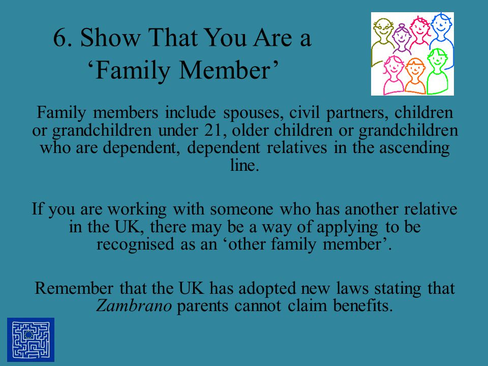 6. Show That You Are a 'Family Member'
