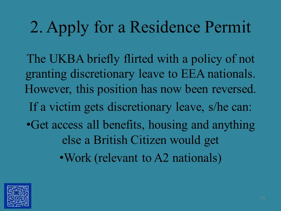 2. Apply for a Residence Permit