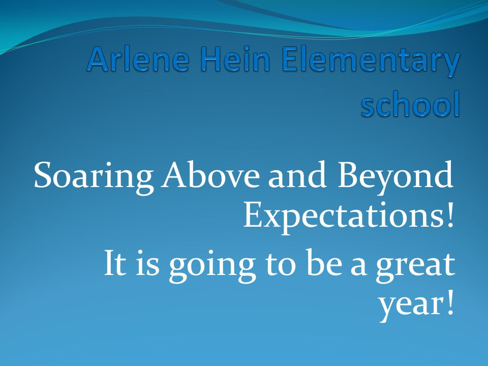 Arlene Hein Elementary school
