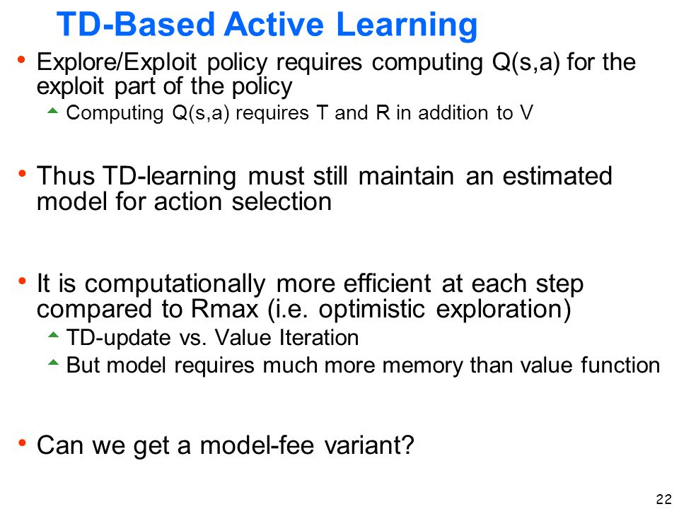 TD-Based Active Learning