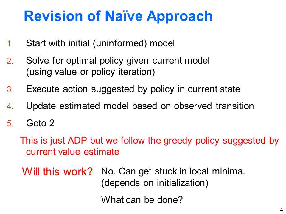 Revision of Naïve Approach