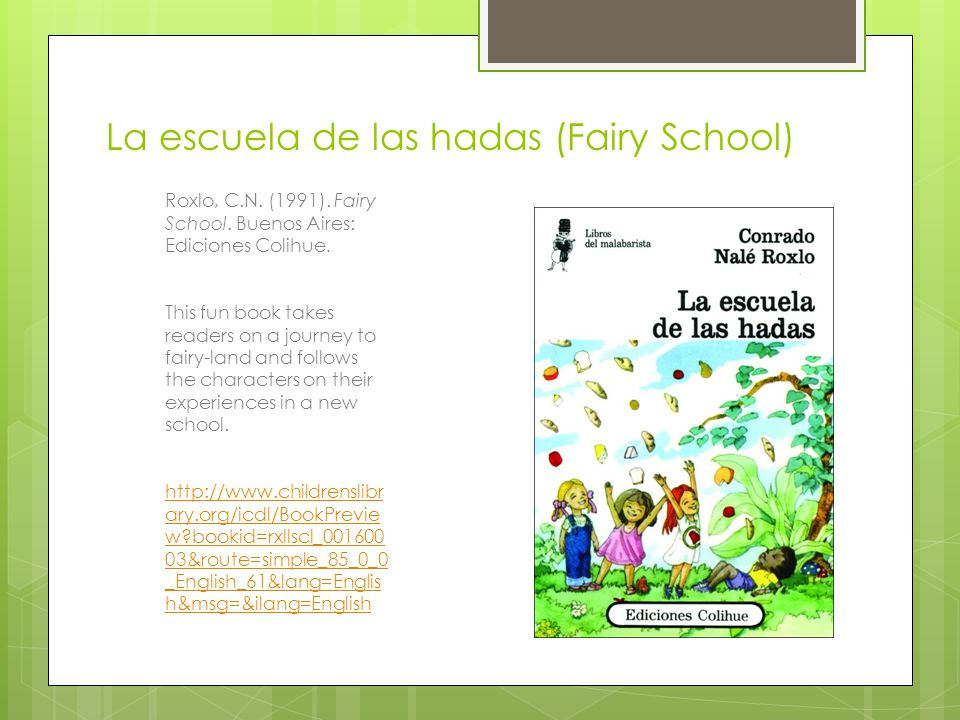 La escuela de las hadas (Fairy School)