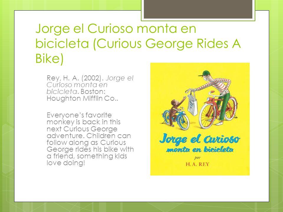 Jorge el Curioso monta en bicicleta (Curious George Rides A Bike)