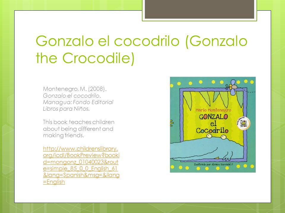 Gonzalo el cocodrilo (Gonzalo the Crocodile)