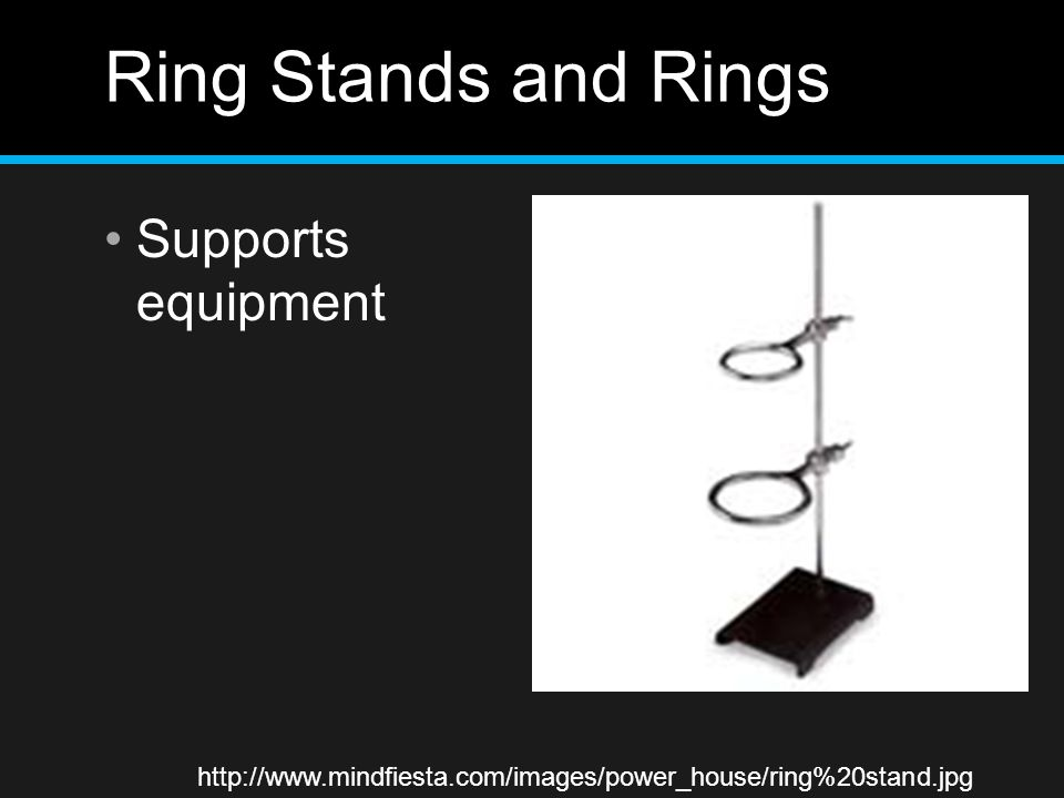 Ring Stands and Rings Supports equipment