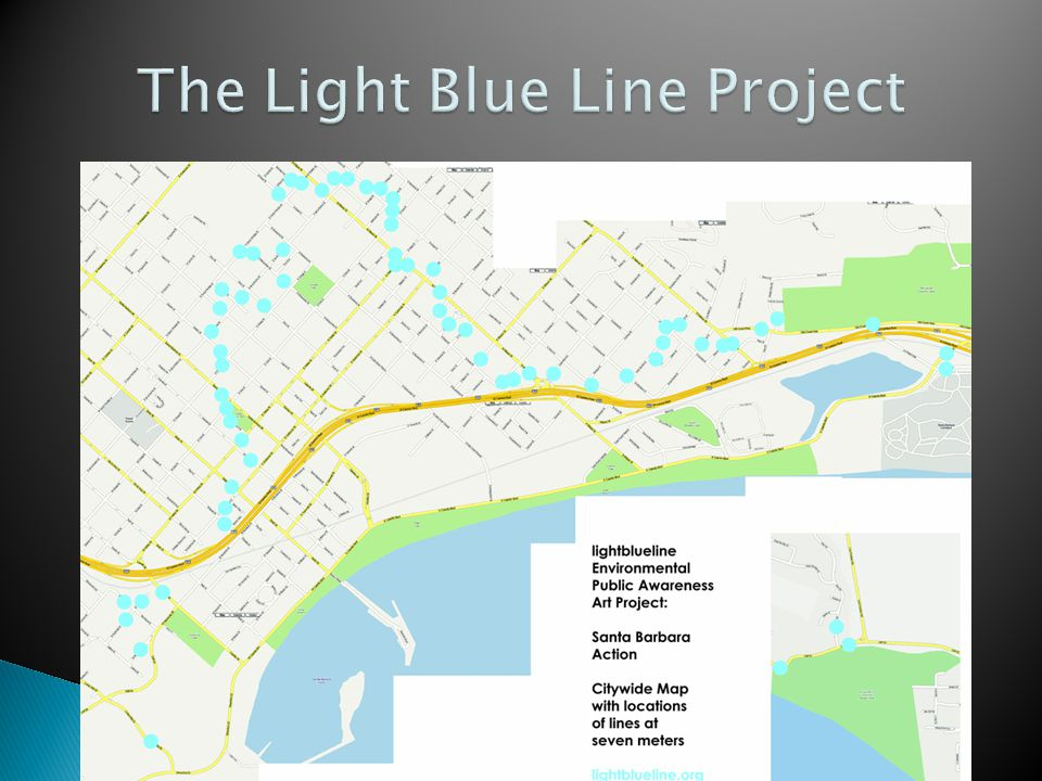 The Light Blue Line Project