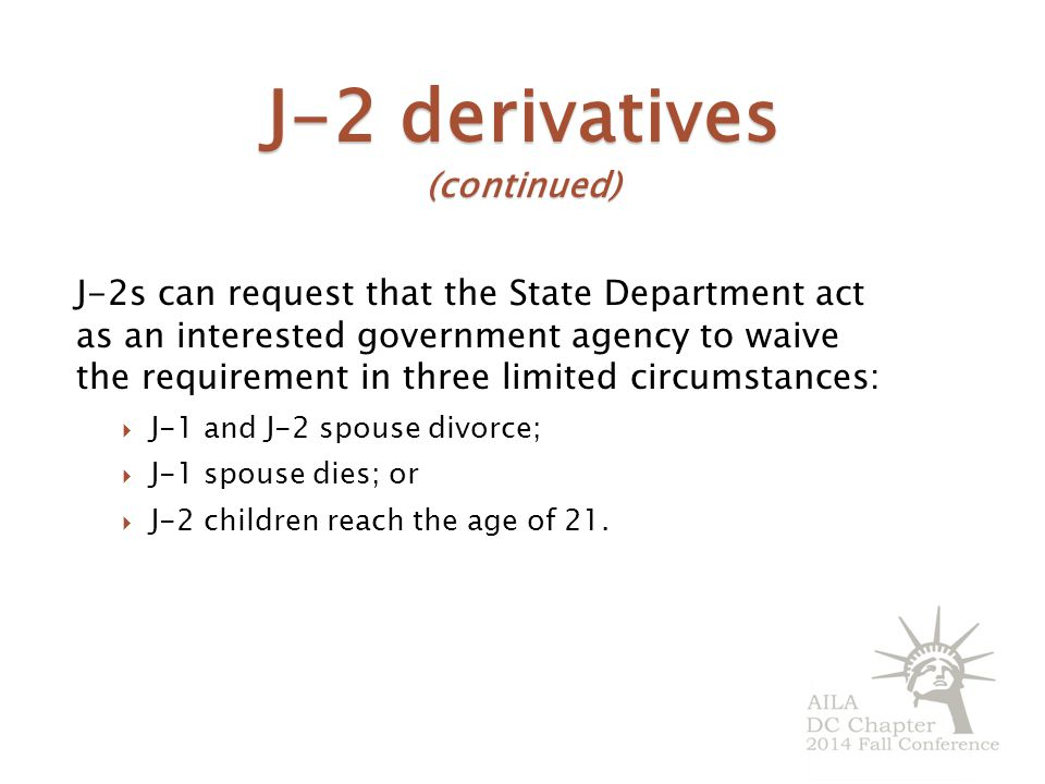 J-2 derivatives (continued)