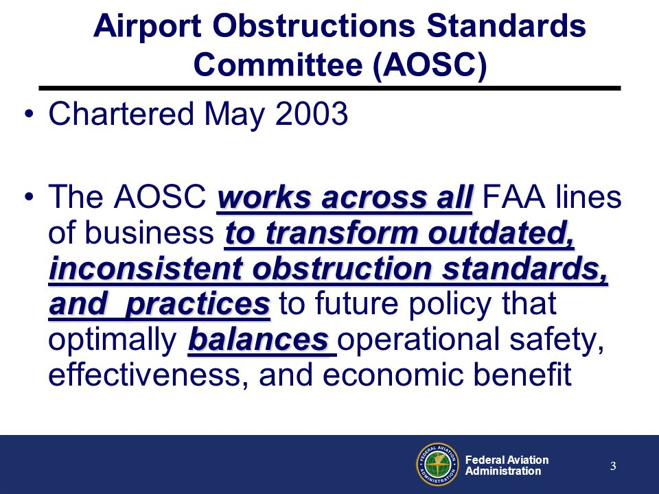 Airport Obstructions Standards Committee (AOSC)