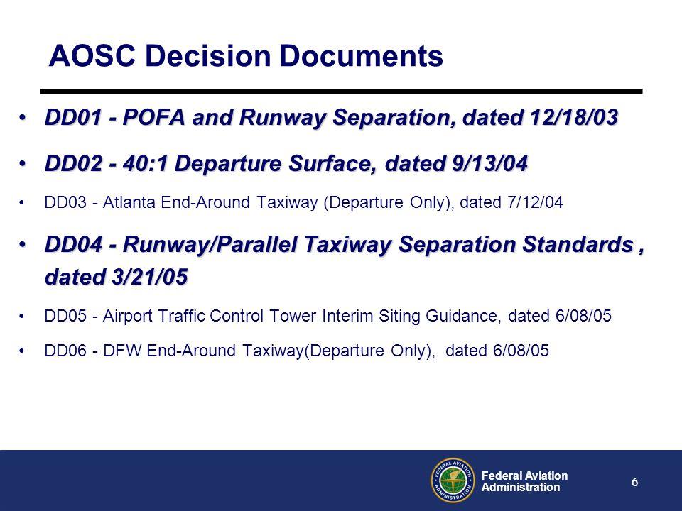 AOSC Decision Documents