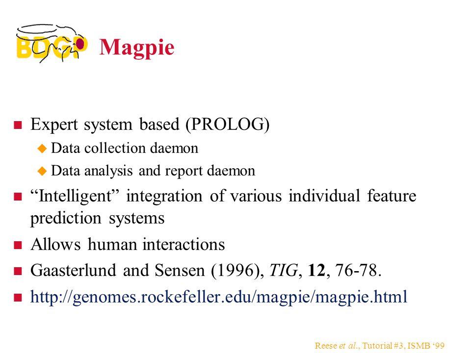 Magpie Expert system based (PROLOG)