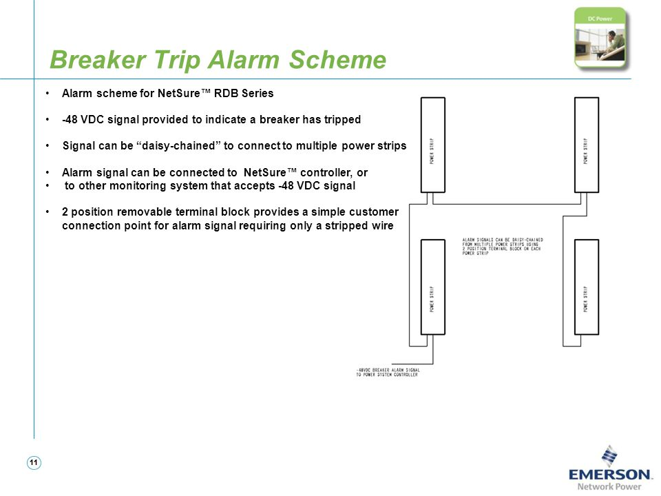 Breaker Trip Alarm Scheme