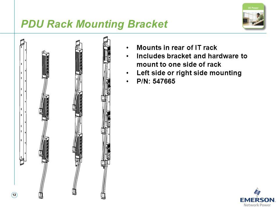 PDU Rack Mounting Bracket