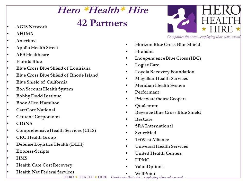 Hero *Health* Hire 42 Partners