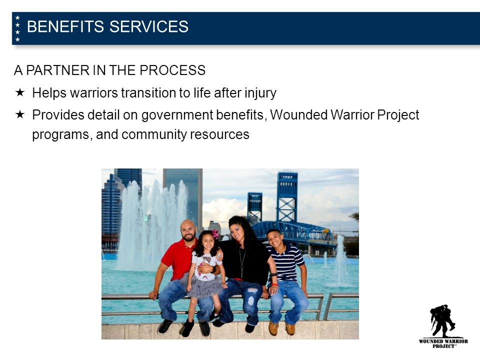 BENEFITS SERVICES A PARTNER IN THE PROCESS
