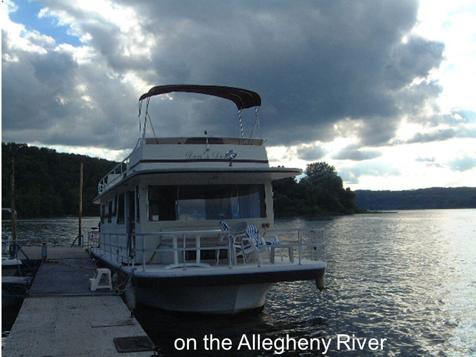 on the Allegheny River
