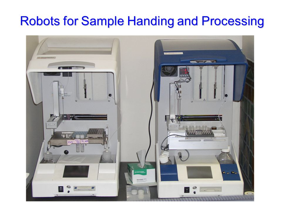 Robots for Sample Handing and Processing