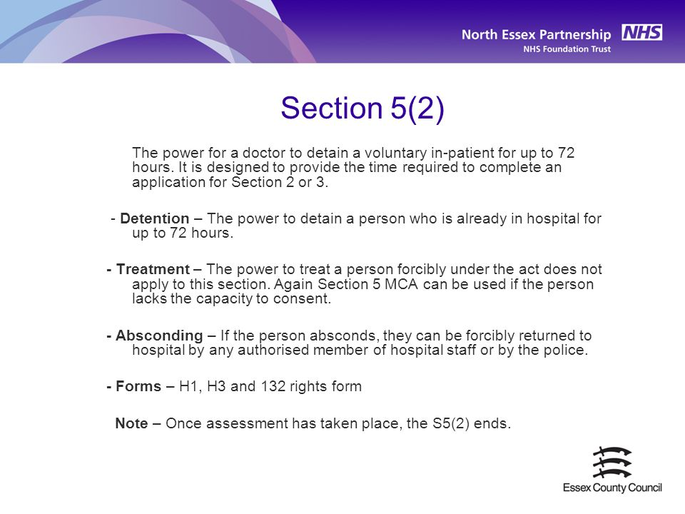 Section 5(2)