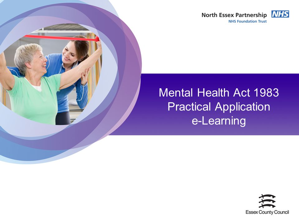 Mental Health Act 1983 Practical Application