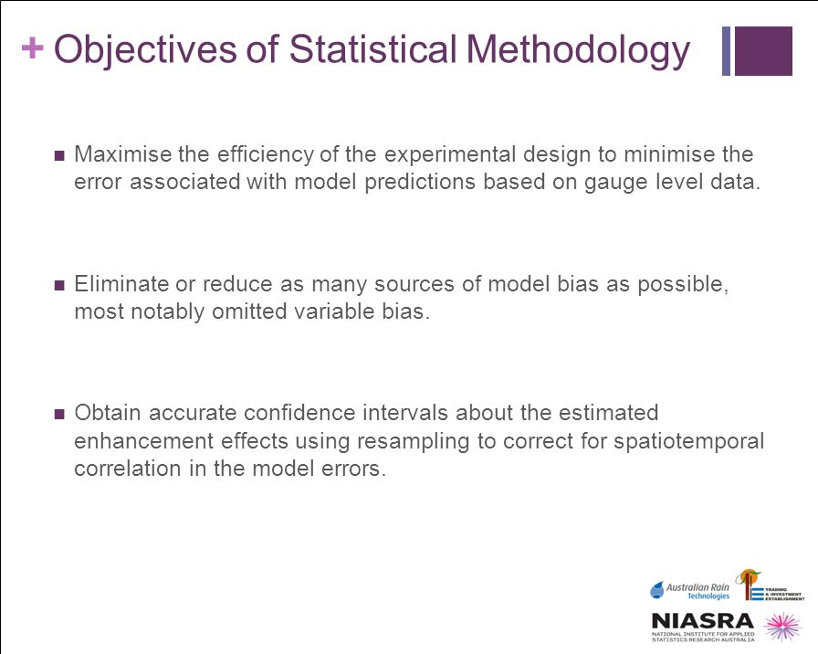 Objectives of Statistical Methodology