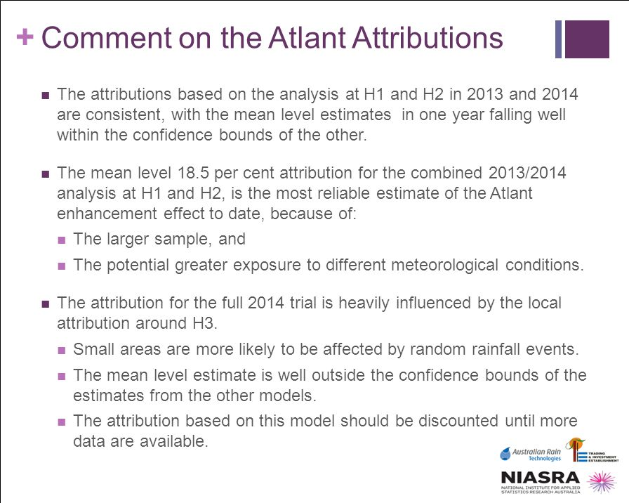 Comment on the Atlant Attributions