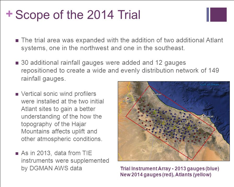 Scope of the 2014 Trial