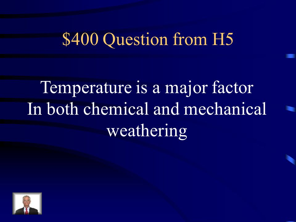 Temperature is a major factor In both chemical and mechanical