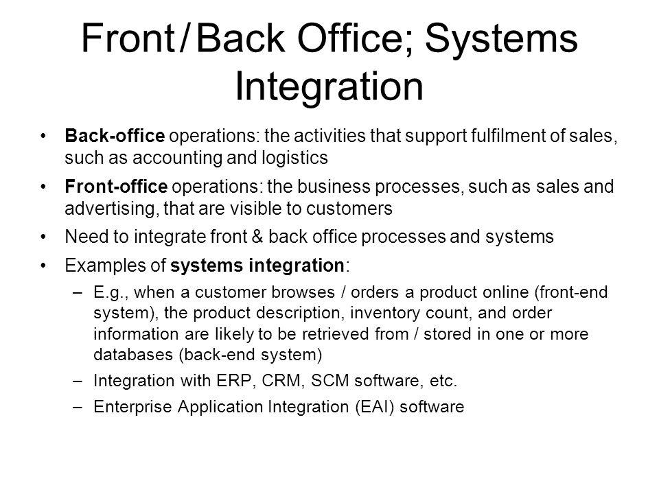 Hoofdstuk 10 e commerce ppt download - Back office operations job description ...