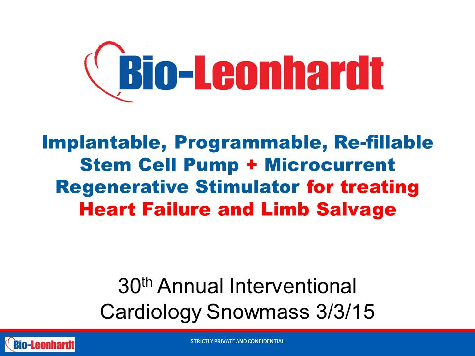 30th Annual Interventional Cardiology Snowmass 3/3/15