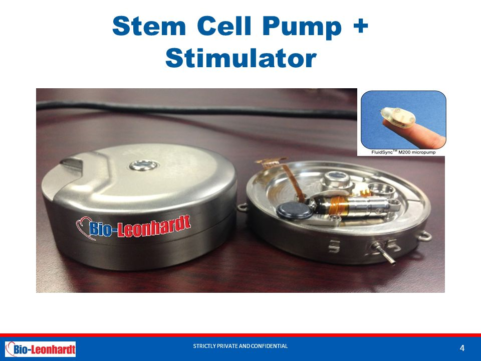 Stem Cell Pump + Stimulator