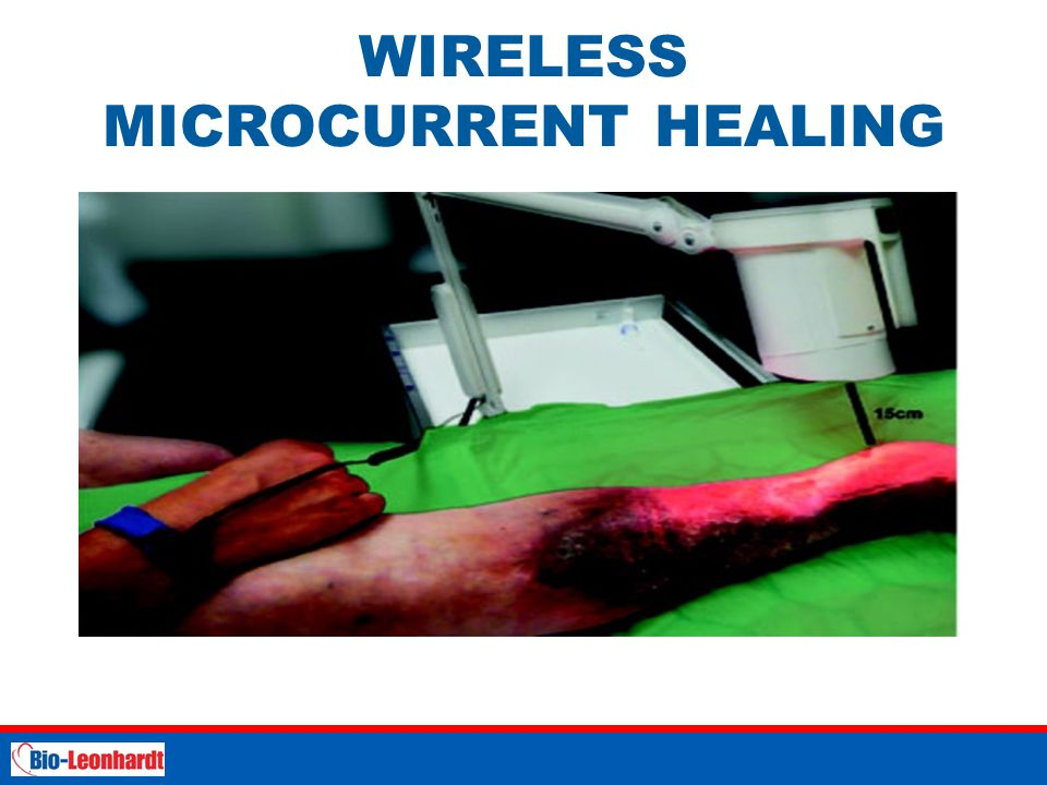 WIRELESS MICROCURRENT HEALING