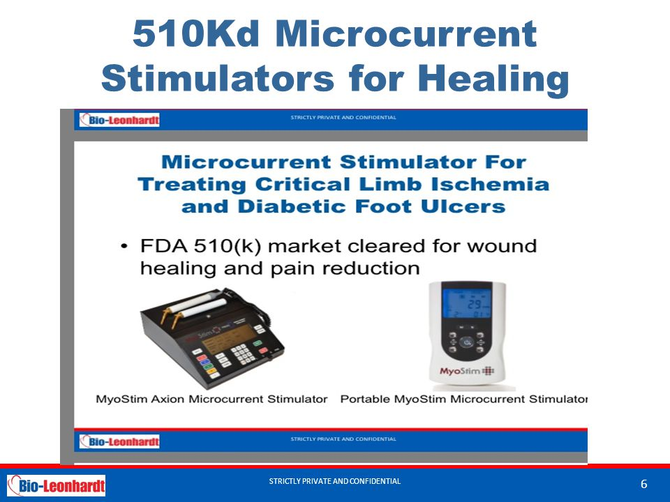 510Kd Microcurrent Stimulators for Healing
