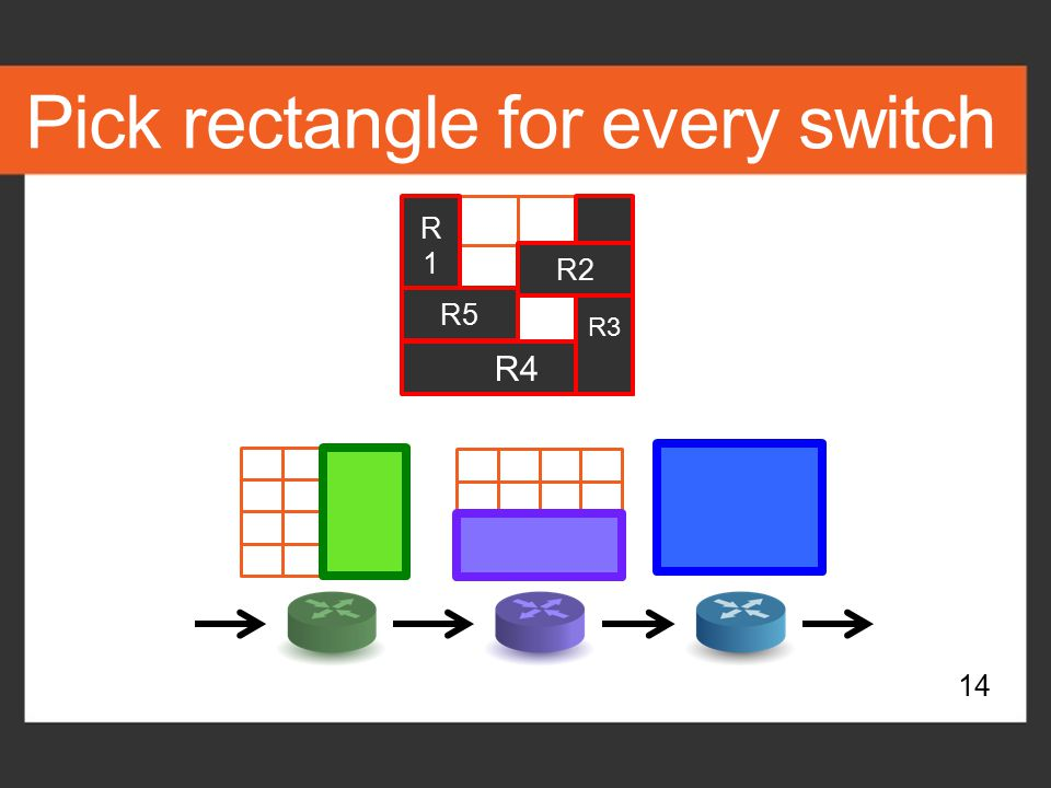 Pick rectangle for every switch