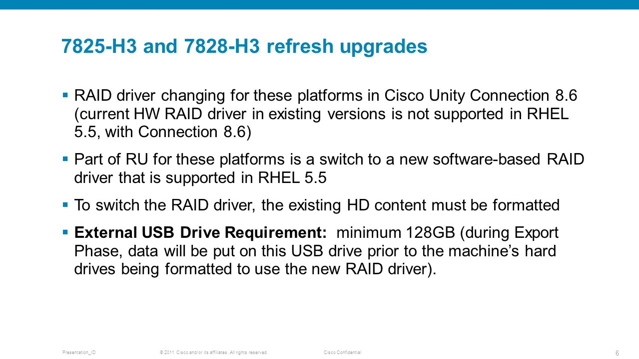 7825-H3 and 7828-H3 refresh upgrades