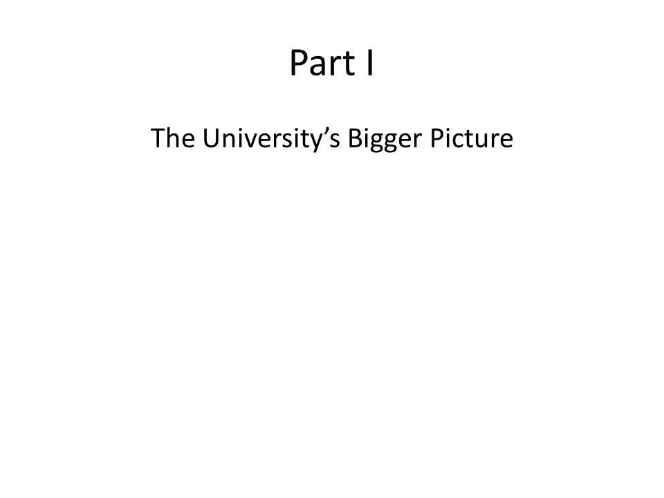 The University's Bigger Picture