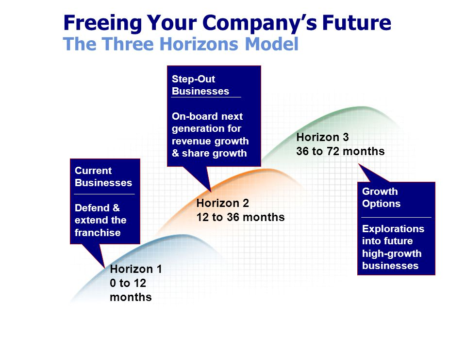 Freeing Your Company's Future The Three Horizons Model