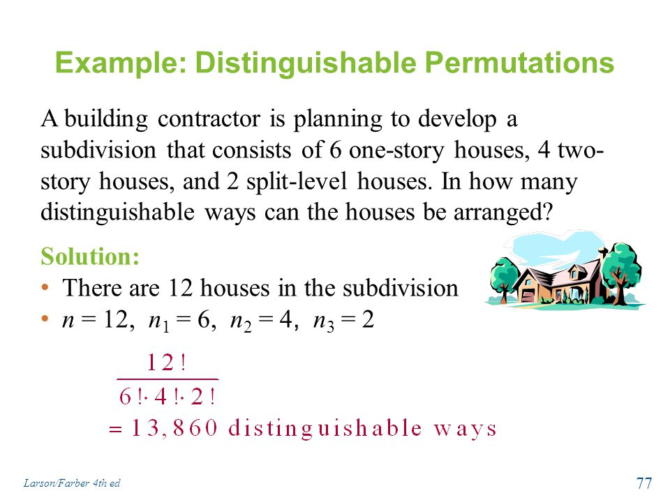 Example: Distinguishable Permutations