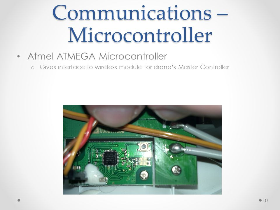Communications – Microcontroller