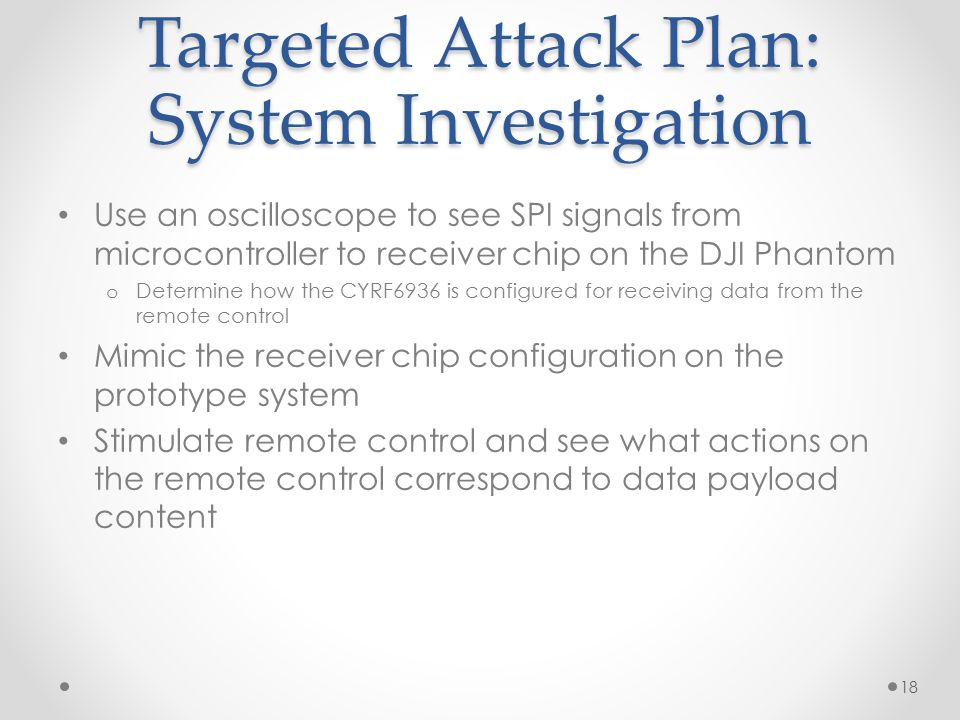 Targeted Attack Plan: System Investigation